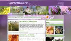 Unser neuer Gartenblog